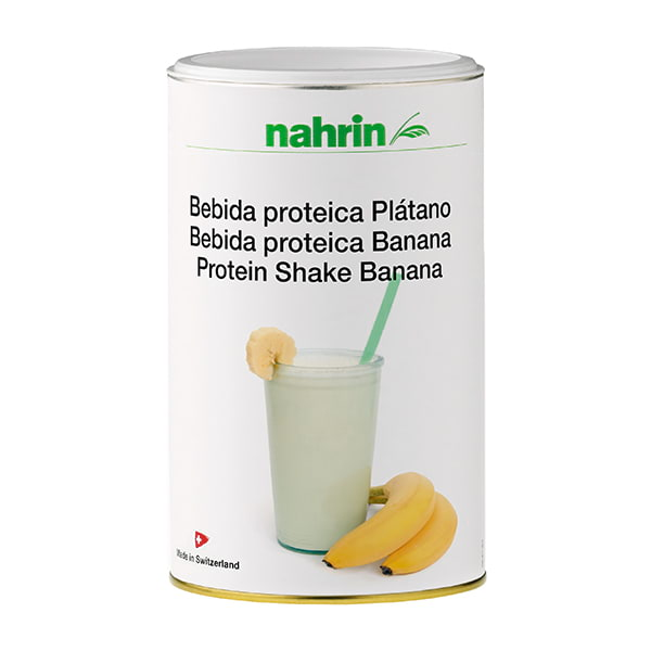 Bebida proteica de Plátano Nahrin