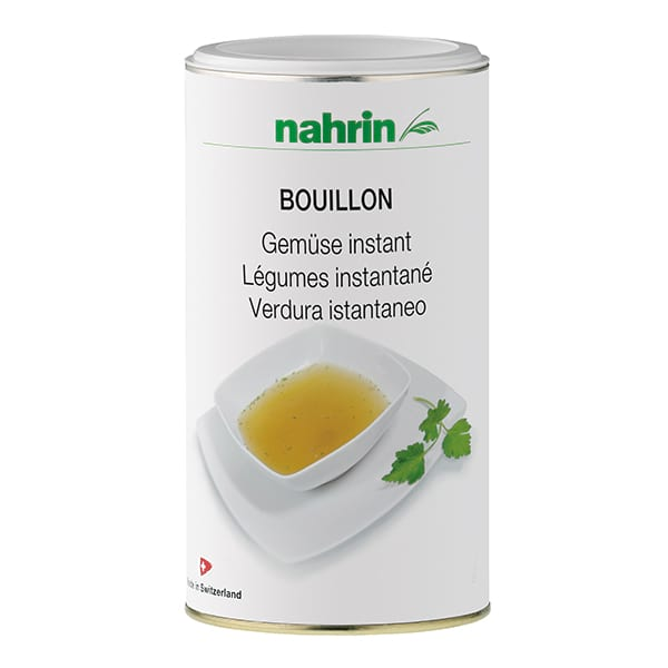 Caldo Vegetal sin glutamato de Nahrin