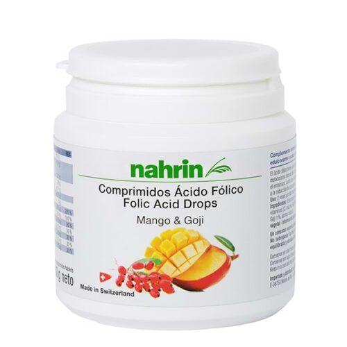 Comprimidos de ácido fólico