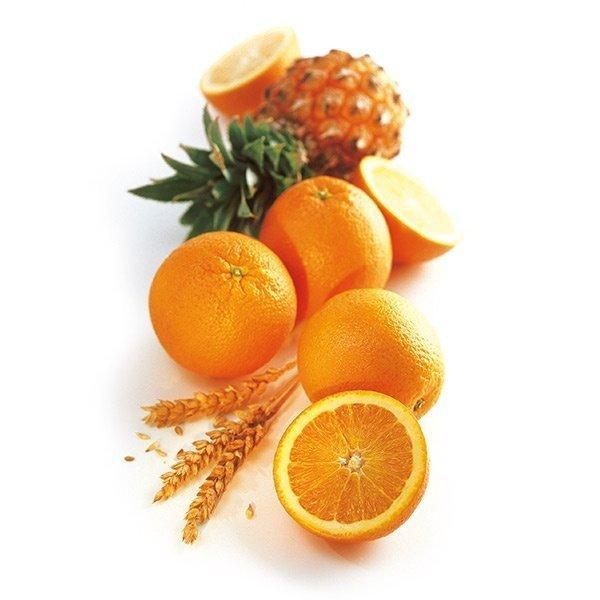 Multivitamínico con naranja