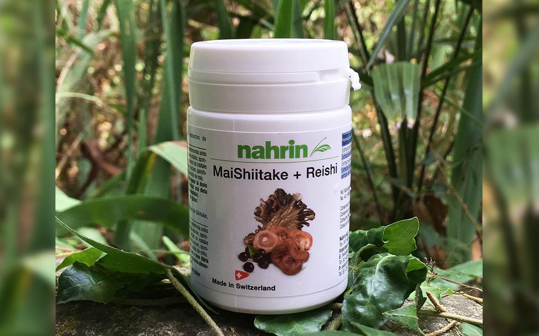 Cápsuals MaiShiitake Reishi y Açai de Nahrin