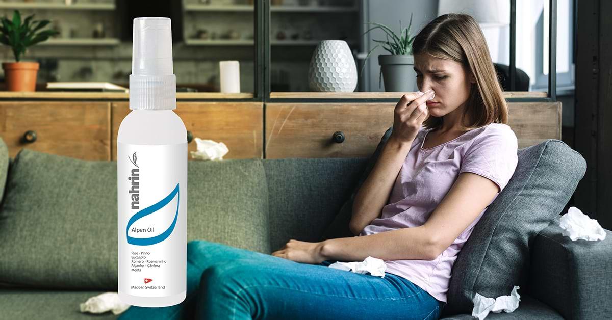 Eliminar la congestión nasal de forma natural