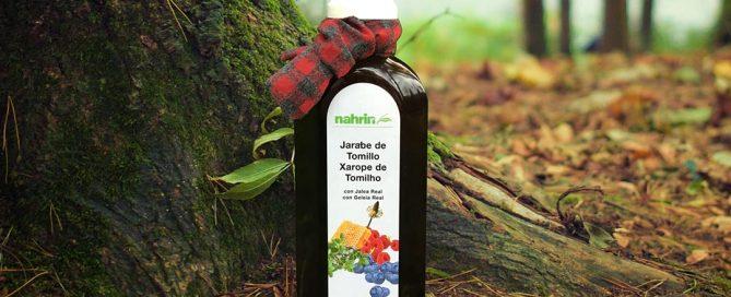 Alivia el resfriado con Jarabe de Tomillo