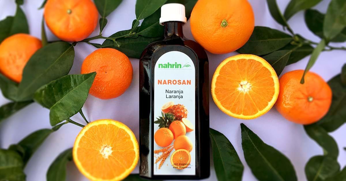 Narosan Naranja con vitamina c