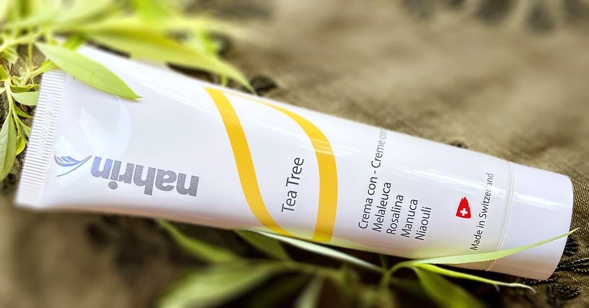 Crema anti-acné con Árbol de Té