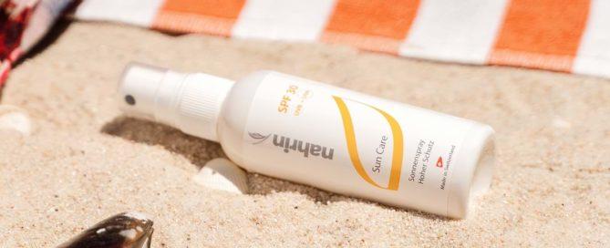 Protección solar facial UVA y UVB