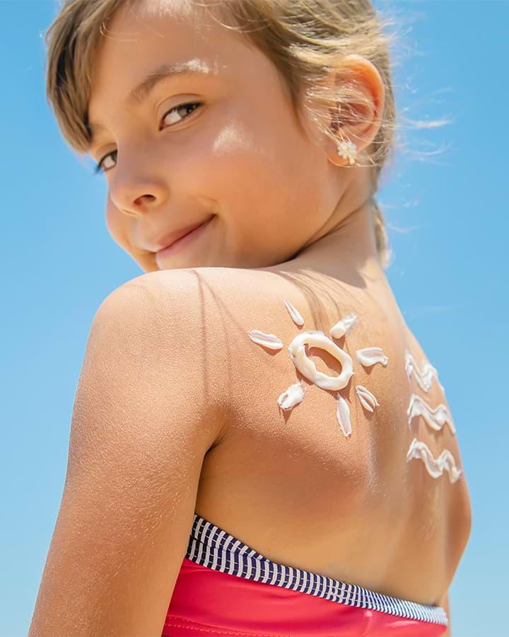 Protección solar para pieles sensibles