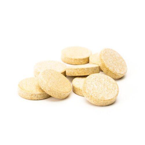 Comprimidos para la digestión y náuseas