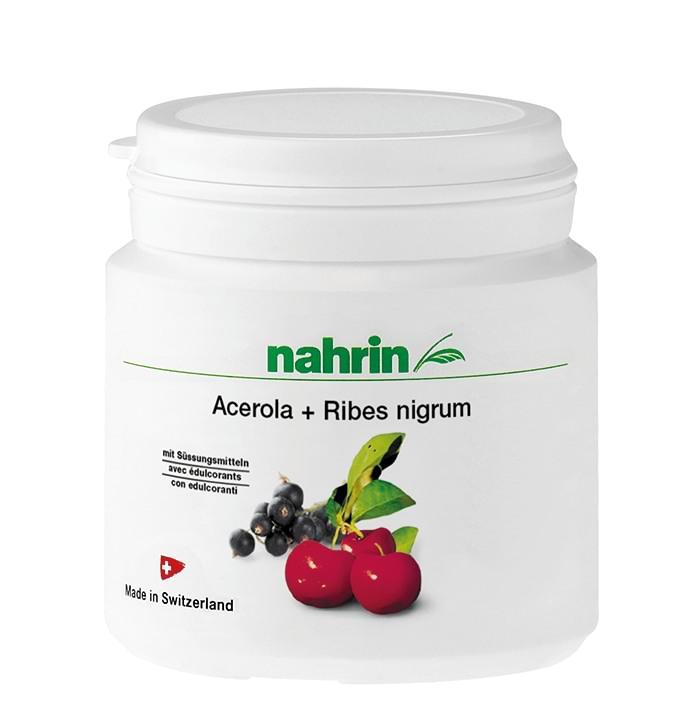 Comprimidos de Acerola y Grosella Negra