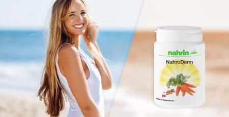 Bronceado natural con Nahroderm