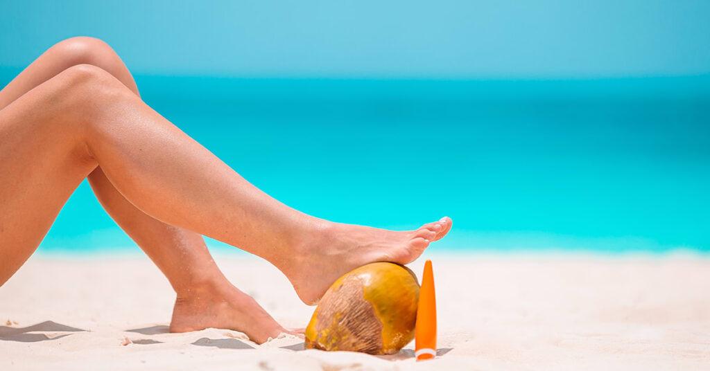 Pies y piernas perfectos todo el verano