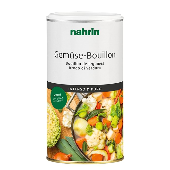 Caldo de verduras 100% natural